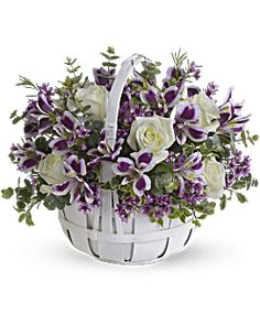 Send New Baby Flowers today! Same day delivery to Southgate, MI and surrounding areas. Buy the freshest flowers from Floral Designs By Marcia! Basket Flower Arrangements, Beautiful Flower Arrangements, Floral Arrangements, Beautiful Flowers, Flower Baskets, Floral Centerpieces, Wedding Centerpieces, Wedding Decorations, Table Decorations