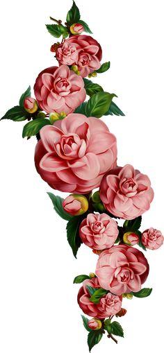 Gold Wallpaper Background, Flower Wallpaper, D Flowers, Vintage Flowers, Pretty Backgrounds, Wallpaper Backgrounds, Certificate Background, Decoupage, Skull Tattoo Design