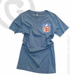 Gamma Phi Beta Football Shirt