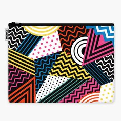 Pattern Overload Laptop Sleeve  #snupped #laptopsleeve #urban #custom #pattern #overload #graphic #design #art