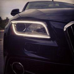 2013 Audi Q5 Matrix LED headlights