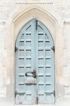 soft #blue #door...nice!