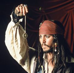Captain Jack Sparrow is a dashing, swashbuckling pirate. He's great under pressure, and is super witty in all sorts of situations.