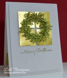 Glittery Wreath for Nancy