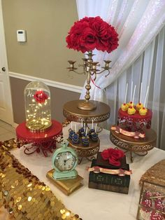 Beauty and the beast Birthday Party Ideas   Photo 1 of 13