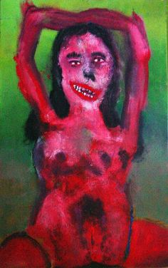 La carmela. Oil painting by Fermin Amores