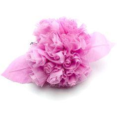 Chanel Rare, Fabulous Chanel Velvet Flower Brooch