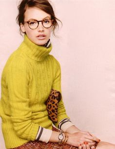two things I need.  new glasses and new sweaters.