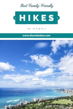 The Best Hikes for Your Family in Hawaii Family Vacation Destinations, Hawaii Vacation, Hawaii Travel, Vacation Trips, Travel Usa, Travel Tips, Travel Packing, Budget Travel, Travel Destinations