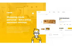 Shopping made personal - IKEA online experience concept on Behance