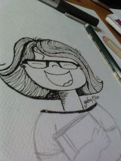 Gaby Moo y un poco más... inaugurando con una ilustración gabymoo :D