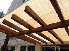 sombra de malla - Buscar con Google Interior Exterior, Wood, Places, Stores, Outdoor, Camping, Google, Gardens, Wood Ceilings