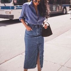 Skirt Outfits, Casual Outfits, Fashion Outfits, Womens Fashion, Fashion Styles, Street Chic, Street Style, Quoi Porter, Look Cool