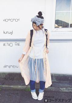 ふんわりチュールは合わせ方が豊富!おしゃれなしまめるコーデ♡ファッション・スタイルのアイデア☆