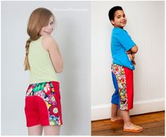 SALE     Long Beach Board Shorts pattern boys girls unisex 3-6m 6-12m 12-18m 18-24m 2t 3t 4t 5t 6 7 8 10 12 14 INSTANT DOWNLOAD, $9.95