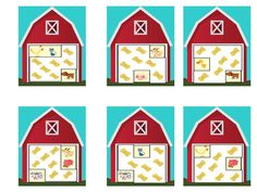 cache cache a la ferme Holiday Decor, Points, French, School, Nature, Special Education, Names, Kindergarten Classroom, Classroom Activities