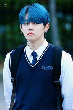 Fandom, Txt Magic, Tao, Choi Daniel, Perfect Boy, Handsome Boys, South Korean Boy Band, Boyfriend Material, Blue Hair