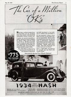 1934 Nash Sedan | Flickr - Photo Sharing!