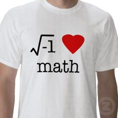 i heart math t-shirt from http://www.zazzle.com/i+heart+math+tshirts