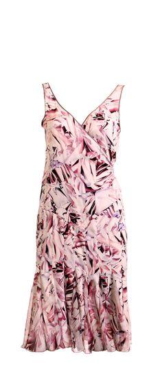 DIANE VON FURSTENBERG Floral Silk Wrap Dress Size 4 – London Couture