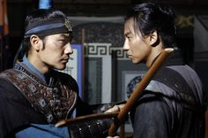 from Queen Seon Deok - rivals facing off over the future queen