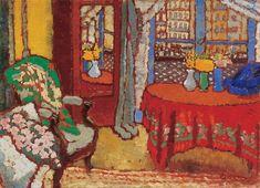 József Rippl-Rónai (1861-1927, Hungarian), 1910, Parisian Interior.