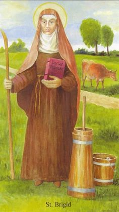 Sowing Mustard Seeds: St. Brigid