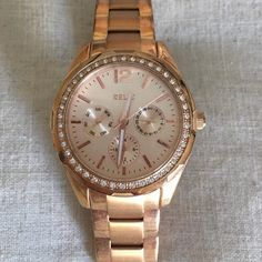 Rose gold relic women's watch Slightly used needs battery. Relic Accessories Watches