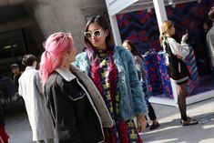Let This Korean Street Style Be All The Spring Fashion Inspiration You Need #refinery29  http://www.refinery29.com/2016/03/107017/korean-fashion-seoul-street-style-photos#slide-20  So much color, so little time....