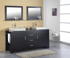 Check out our Virtu USA MD-7072 72 inch Tavian Double Vanity piece! With its sexy, sleek, and modern design, it'll add so much flavor to your bathroom. It's a beautiful choice for any large bathroom.