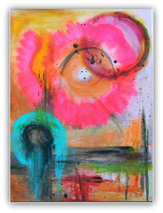 abstract acrylic original painting
