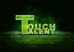 TOUCHTALENT, the most creative website online... - Design by Sarfraz Nawaz at touchtalent 18032
