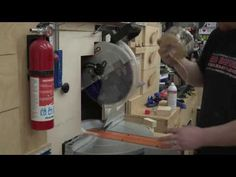 Miter Saw Dust Collection Demonstration