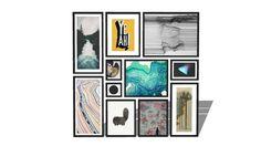 Wall frame arrangement - 3D Warehouse
