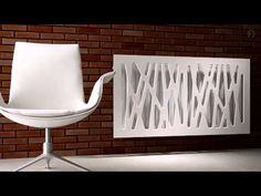 Radiator Covers MDF with PVC foil (white and others) - Online Shop Modular Ltd Diy Radiator Cover, Radiators, Sweet Home, Flooring, Chair, Interior Ideas, Furniture, Walls, 3d