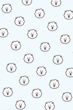 #bt21 #bts #wallpaperbt21 #rj #jin Wallpaper Gratis, Iphone Wallpaper, Teen Wolf, Cute Wallpapers, Hello Kitty, Snoopy, Jin, Taehyung, Army