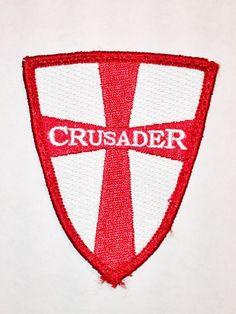 Crusader velcro patch