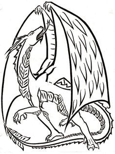 Dragon Outline Related Keywords & Suggestions - Dragon Outline Long ... Demon Tattoo, Tattoo Outline, Outlines, Tattoo Designs, Dragon, Amp, Devil Tattoo, Dragons, Design Tattoos