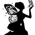 Tatuaj zana cu fluture