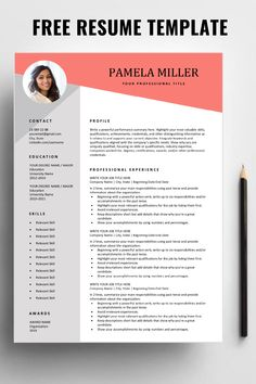 Are you looking for a free, editable resume template? Sign up for our job search tips and download this template for free. You can easily adjust it in Microsoft Word. #freeresume #resumetemplate #resume #jobsearch #jobhunt
