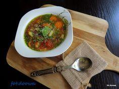 Moje Małe Czarowanie: Prowansalska zupa bazyliowa
