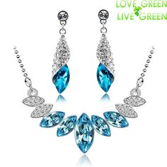Cheap jewelry tanzanite, Buy Quality jewelry owl necklaces directly from China necklace jewelry box Suppliers:            new arrival factory Wholesales 18K yellow gold plated circle design Austrian Crystal Necklace Ear