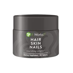 "#hairskinandnails  My first time using Hair Skin & Nails was a few months before joining It Works! and I felt amazing taking them everyday. I was very proud of my results. Plus HSN is both a skin care and a supplement. Take 2 tablets a day with food and drink lots of water daily because hydration is very important for your health when it comes to your hair, skin and nails.   Who wants to start growing longer hair??  Comment below ""Hair""  #itworks #itworkstestimonial"