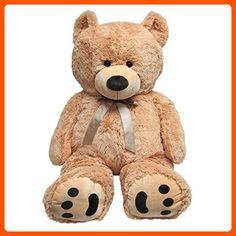 Huge Teddy Bear - Tan - Toys for little kids (*Amazon Partner-Link)