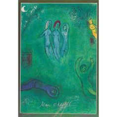 Marc Chagall, 5 WORKS: THE TRIBE OF DAN; TRIBE OF NEPHALI; TRIBE OF REUBEN; DAPHNIS' DREAMS AND THE NYMPHS & ANOTHER WORK