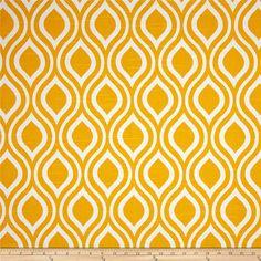 Nicole Corn Yellow Slub and White Curtains Drapery by SewPanache, $120.00