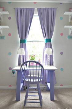 Update a girl's bedroom with this Girls Bedroom Decor with a Purple, Pink, and Teal Theme. This girls purple bedroom decor is mostly DIY bedroom decor projects made using my Cricut Explore, paint, car Purple Bedroom Paint, Pink Bedroom Decor, Purple Bedrooms, Bedroom Themes, Bedroom Ideas For Teen Girls Grey, Teen Girl Bedrooms, Trendy Bedroom, Bedroom Kids, Budget Bedroom