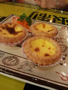 Portuguese Egg Tart at Fook Yew  The best I've ever had