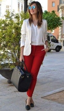 Easy Spring Outfits Can Wear To Work 05