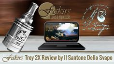 Dear @ilsantonedellosvapo was published review of Fakirs Troy 2X on YouTube at February 27, 2015. Thanks @MatteoGallegati #ilsantonedellosvapo #MeetTheFakirs #ecig #FakirsTroy2X #Troy2X #DatTroy2XDoe #ecigreview #ecigreviews #modreview #vape #vapeon #vapelyfe #vapefam #vapearazzi #calivapers #vapestagram #vaporizer #vapeporn #vaporlife #vapelife #vapelove #clouds #cloudchaser #vapefamous #vapershouts #vapetricks #authentic #notaclone #VapeCourtesy #vapecommunity